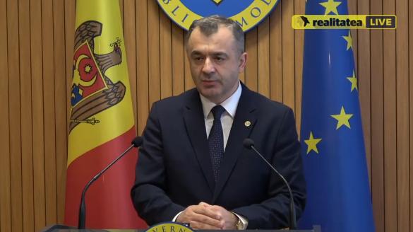 LIVE! Premierul Ion Chicu face declarații de presă, după ședința Cabinetului de miniștri