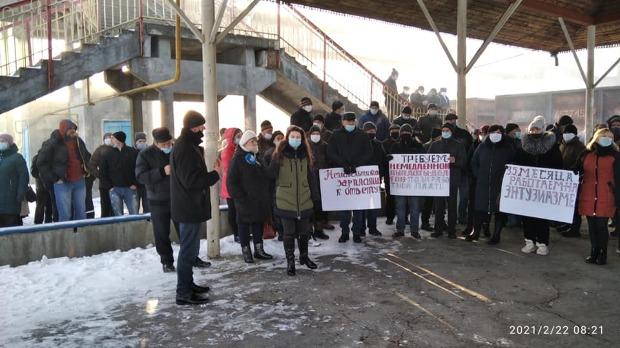 Nemulțumiți că nu și-au primit salariile din noiembrie, feroviarii din Ocnița au blocat circulația trenurilor marfare