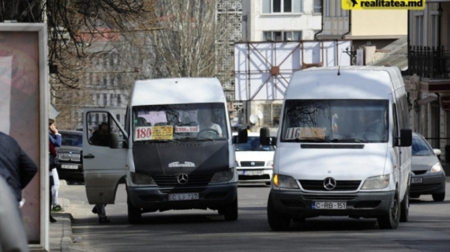 Rutele de microbuz și autobuz private din Chișinău nu vor ieși marți la linie
