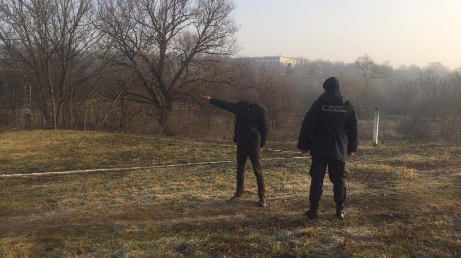 Un moldovean, reținut pentru a doua tentativă în acest an de a ieși ilegal din țară