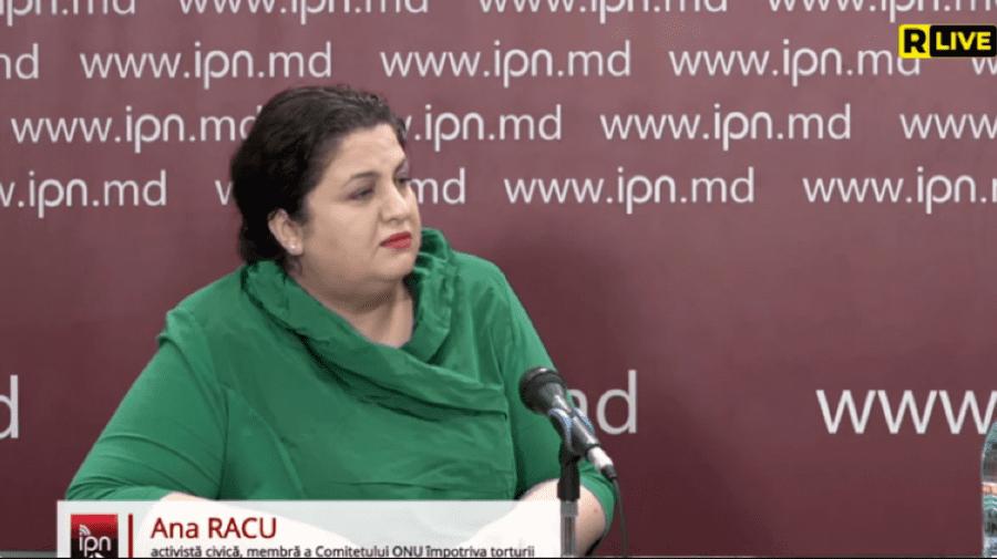 Ana Racu, reprezentantul Comitetului ONU împotriva torturii, despre condițiile din închisorile moldovenești