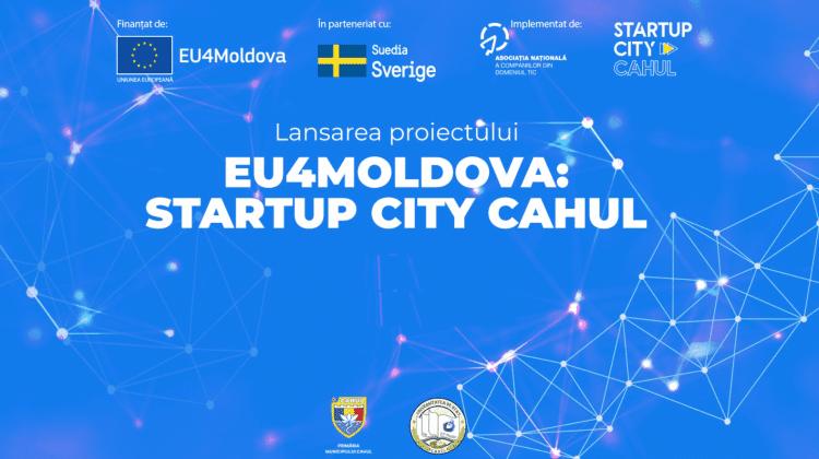 EU4Moldova: Startup City Cahul, un nou proiect pentru dezvoltarea regiunii Cahul