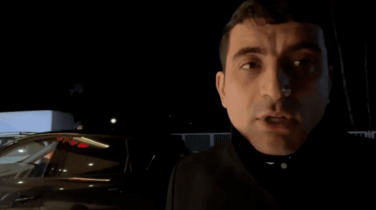 (VIDEO) George Simion va dormi în Vama Leuşeni! Poliția nu i-a permis accesul în țară