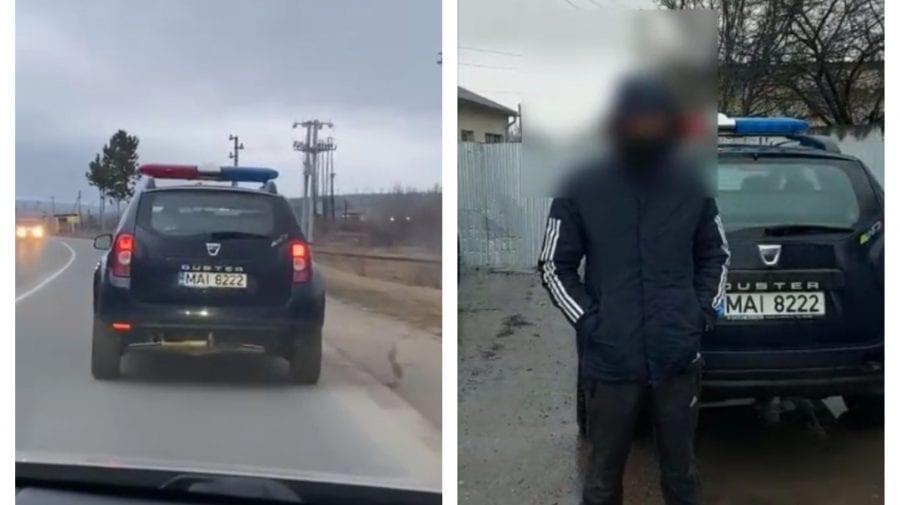 (VIDEO) Și-a făcut-o cu mâna lui! Un șofer va fi amendat după ce s-a filmat în depășire pe banda continuă