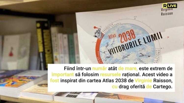 """ATLAS 2038. Viitorurile lumii"", Virginie Raisson"