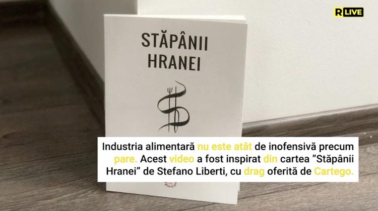 """""""Stăpânii hranei"""", Liberti Stefano"""