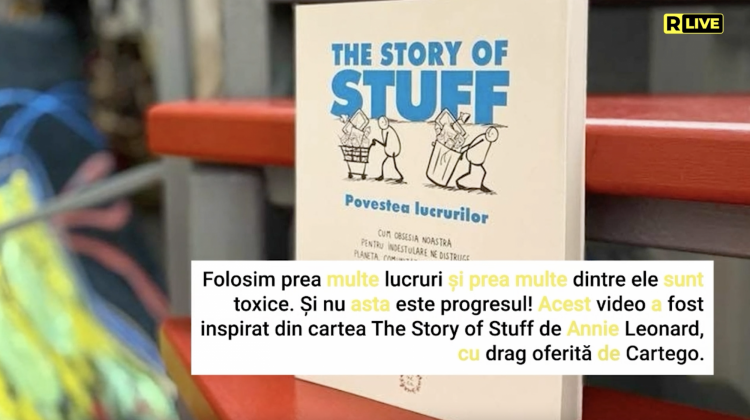 """The Story of Stuff"", Annie Leonard"