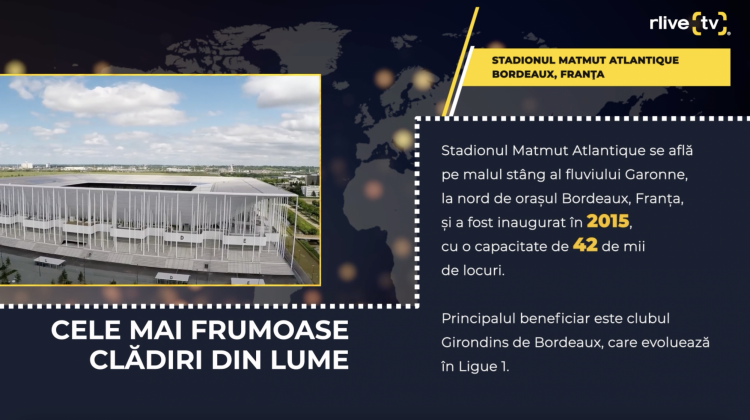 Stadionul Matmut Atlantique, Bordeaux (Franța)