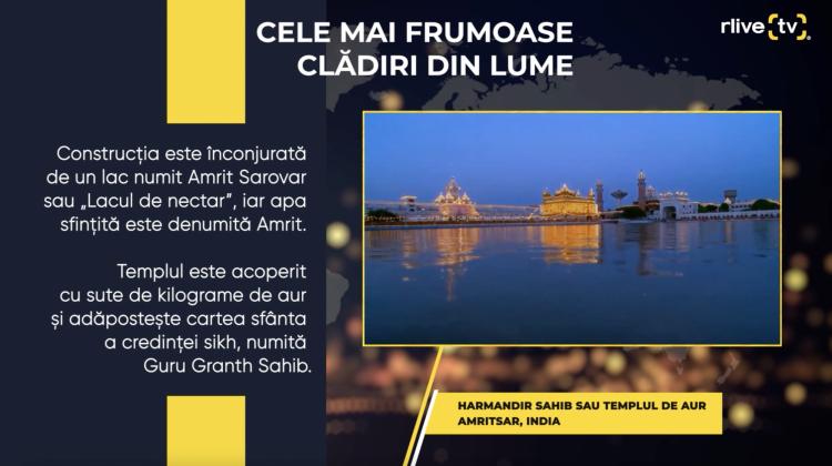 Harmandir Sahib sau Templul de aur (India)