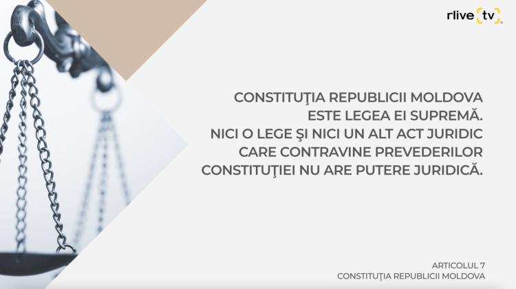 Articolul 7 Constituţia, Lege Supremă