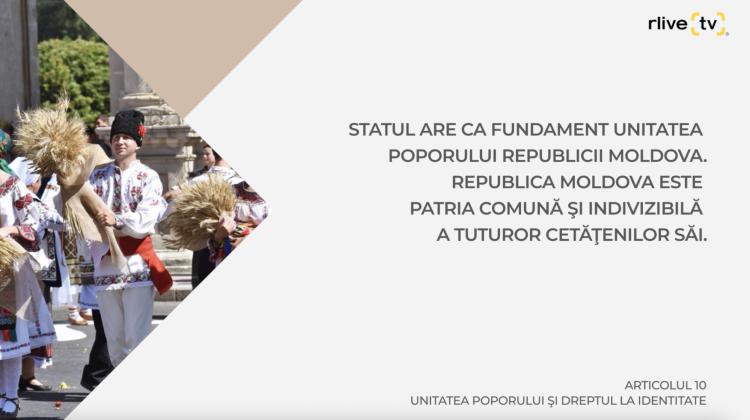Articolul 10, Unitatea poporului şi dreptul la identitate