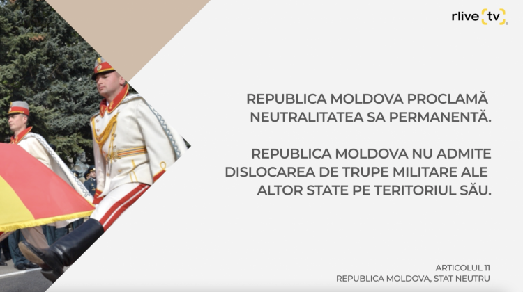 Articolul 11 Republica Moldova, stat neutru