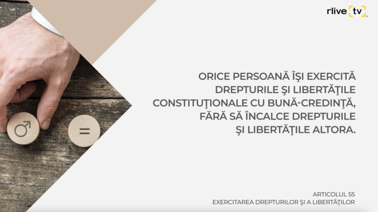 Articolul 55, Exercitarea drepturilor şi a libertăţilor