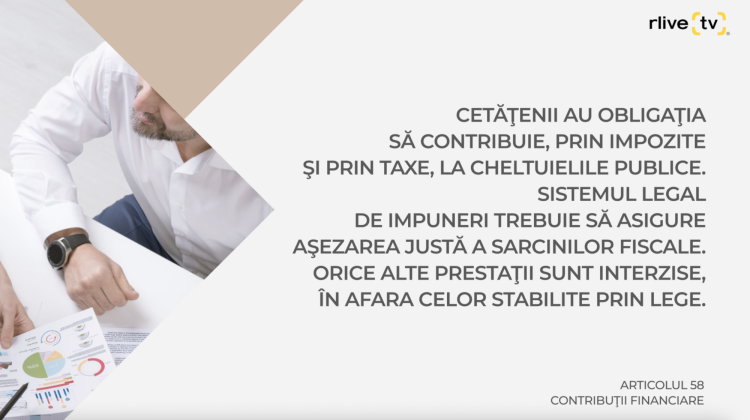 Articolul 58, Contribuţii financiare