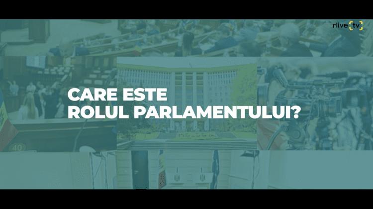 Rolul Parlamentului