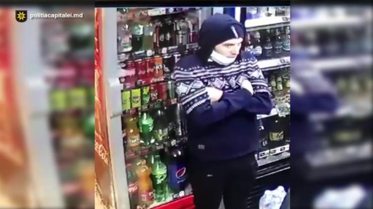 (VIDEO) Dacă îl recunoști, anunță Poliția! Bărbatul este căutat pentru escrocherie