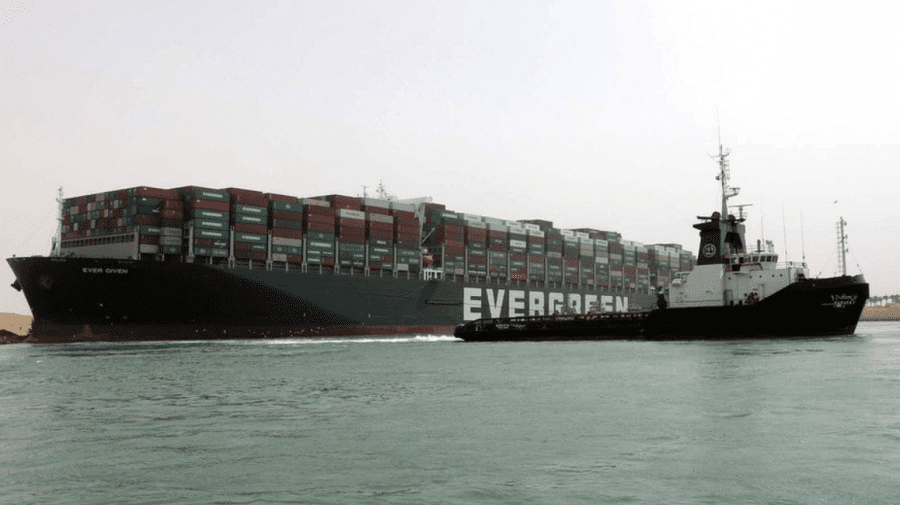 Echipajul de pe Ever Given – blocat. Egiptul a confiscat nava și cere circa 1 mlrd de dolari