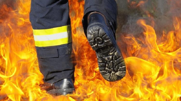 Exploatarea necorespunzătoare a sobei l-a lăsat pe un bătrân cu arsuri pe corp