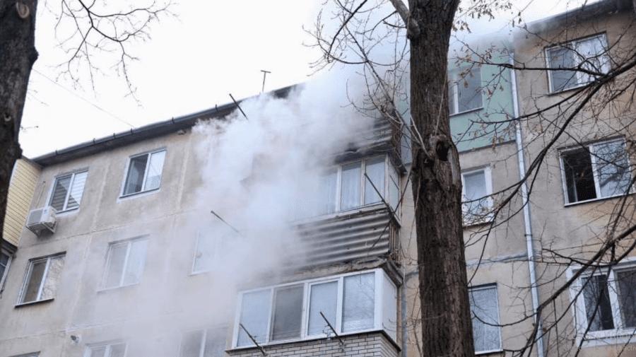 (FOTO) Sfârșit tragic pentru o femeie! S-a stins din viață în propriul apartament aflat în flăcări