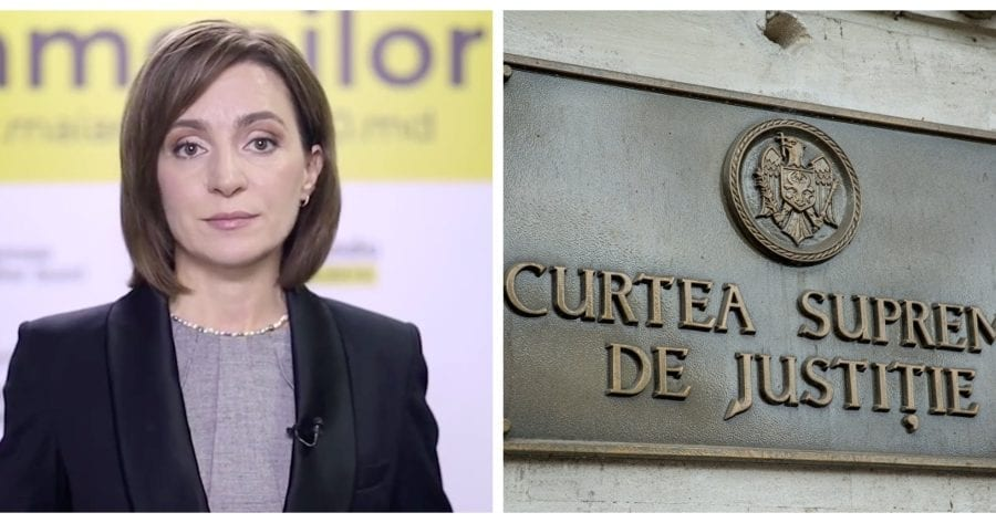 Chemarea în judecată a CA de către Maia Sandu, declarată inadmisibilă de CSJ. Motivele invocate de instanță (DOC)