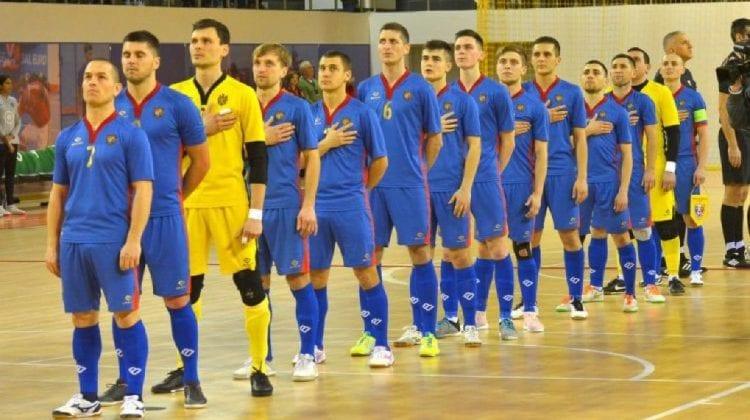 Naționala de futsal a Moldovei a câștigat meciul cu Grecia din cadrul preliminariilor Campionatului European