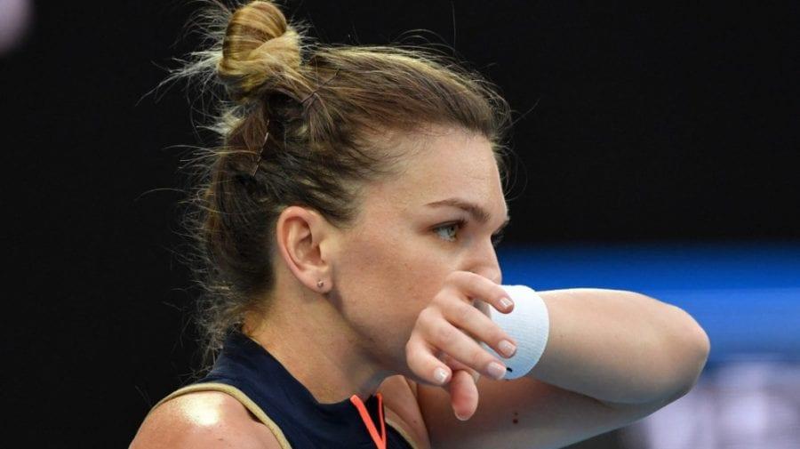 Simona Halep, eliminată de la Australian Open