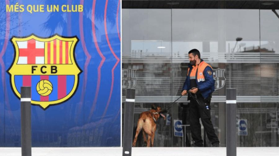 Percheziții și arestări la FC Barcelona