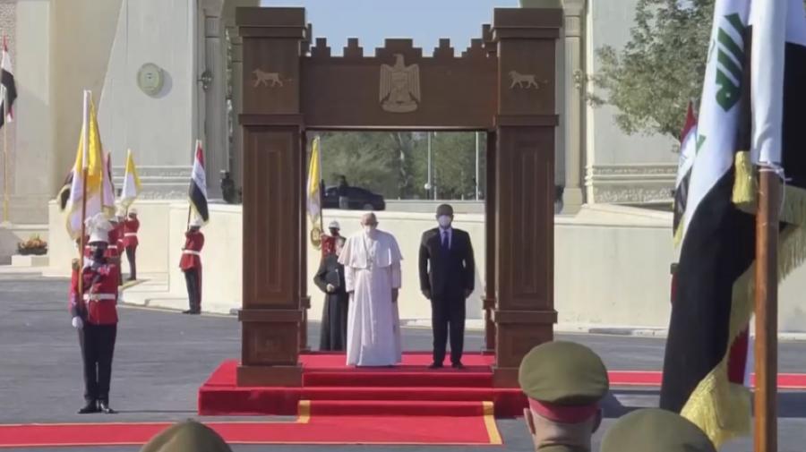 LIVE: Papa Francisc începe pelerinajul istoric în Irak