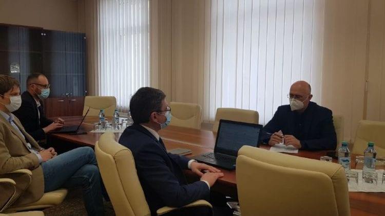 Igor Grosu, la consultări cu PDM. Democrații: Rămânem consecvenți, țara are nevoie de Guvern funcțional