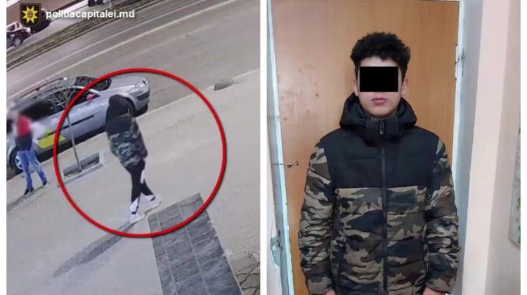 Un minor de 16 ani, reținut după ce a sustras un portmoneu cu 3.000 de euro de la un tânăr în stare de ebrietate
