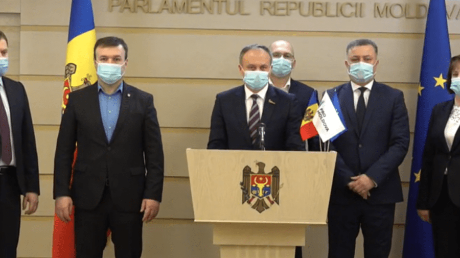 """(VIDEO) """"Pro Moldova"""" propune deputaților un armistițiu politic. Ce prevede acesta"""