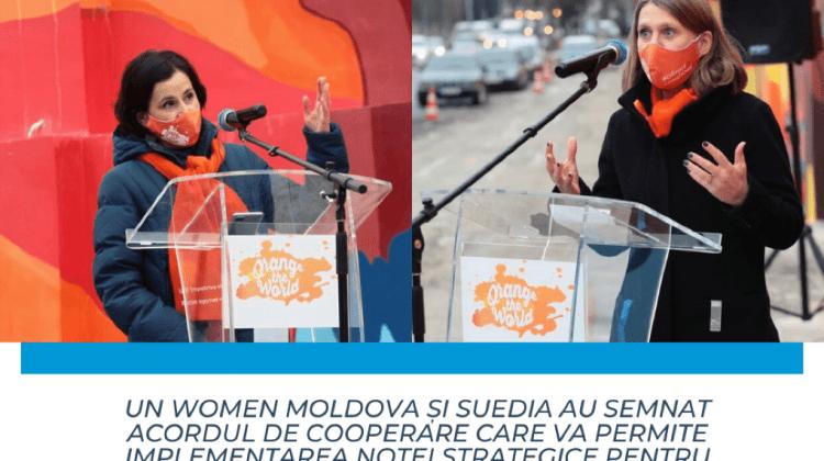Un nou acord în Moldova pentru a susține egalitatea de gen și pentru a combate violența împotriva femeilor