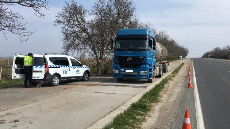 Amenzi usturătoare pentru șoferii care transportă mărfuri. Ce au depistat inspectorii ANTA