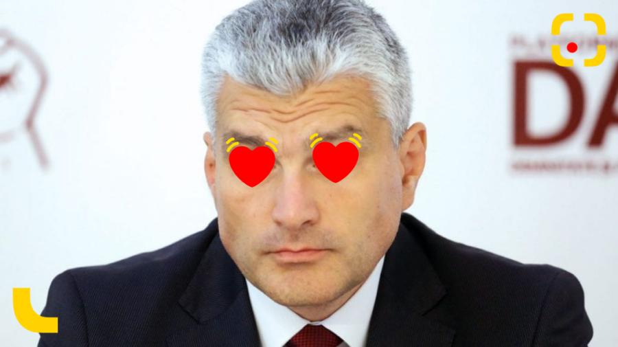 """Pe Slusari l-a apucat dragostea după eșecul Platformei """"DA"""": Te iubesc foarte mult, draga mea…"""