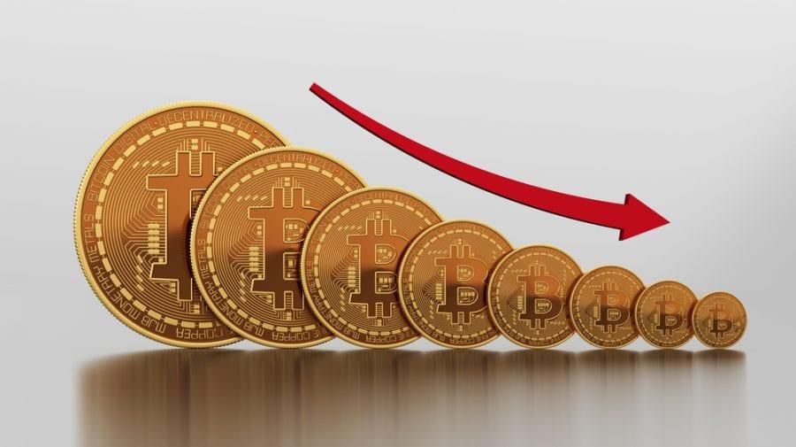 Bitcoin-ul s-a prăbușit din cauza unui zvon! Criptomoneda a scăzut în weekend cu 14%