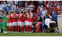 Starea de sănătatea fotbalistului danez, căzut fără răsuflare în timpul meciului de la Euro 2020: Aceeași