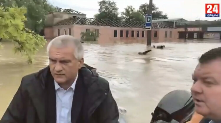 În Crimeea a fost instituită Stare Excepțională de inundații