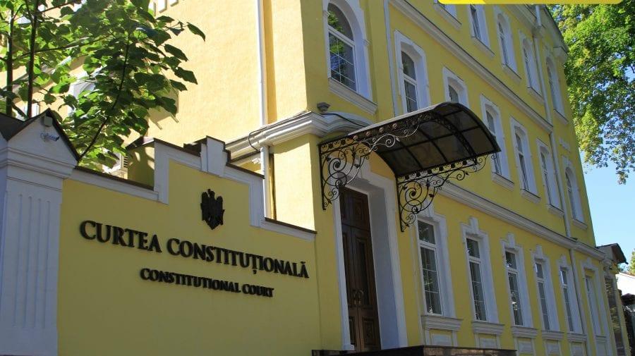 CCM confirmă decizia luată de președinta interimară a Curții privind suspendarea acțiunii hotărârilor Parlamentului