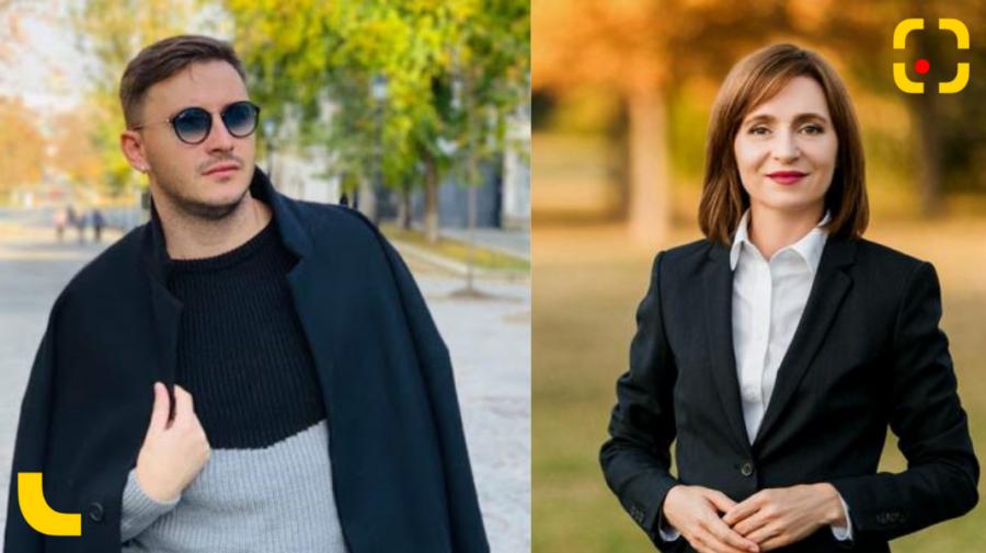 VIDEO Actorul Emilian Crețu, pe iarbă, la discuții cu Maia Sandu: E prima dată când am emoții de genul ăsta