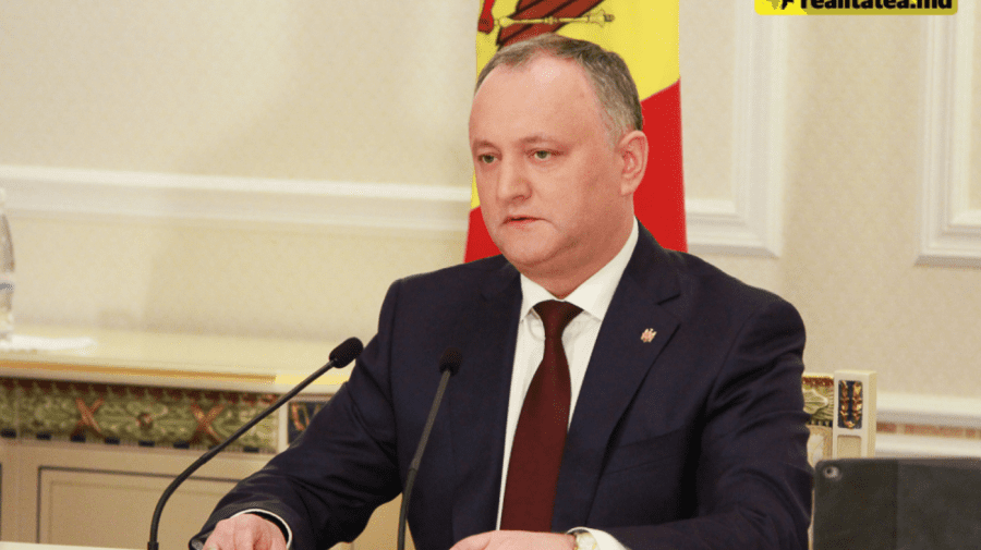 (VIDEO) Dodon, despre Ceaus: Cei care fug de justiția din țara lor, nu au ce căuta adăpost politic în Moldova
