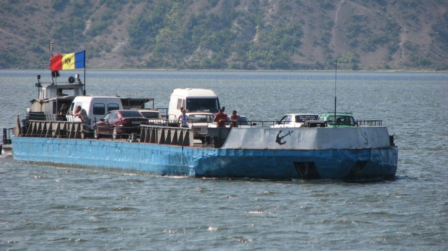 Problema circulației feribotului care face legătură între cele două maluri ale Nistrului, discutată la Coșnița