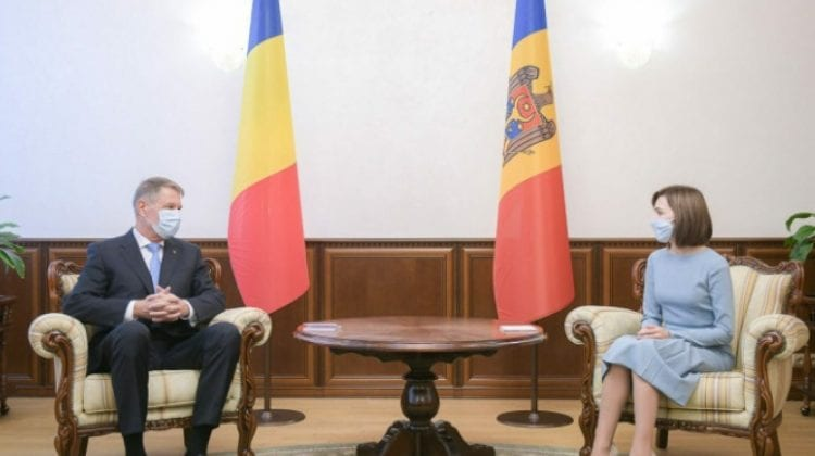 (Foto) Întrevedere Maia Sandu-Klaus Iohannis la Cotroceni. Află ce au discutat