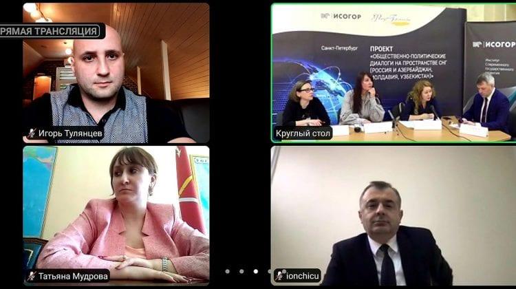 Ion Chicu, prezent la mese rotunde organizate de ruși la care participă și așa numiți ex-oficiali transnistreni