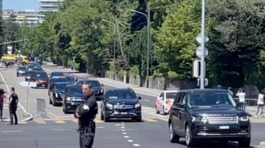 VIDEO Joe Biden s-a plimbat pe străzile din Geneva având un cortegiu de peste 30 de automobile