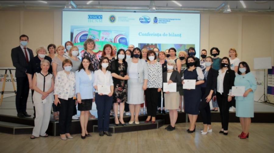 Îmbunătățirea condițiilor de studiere a limbii române, în școlile cu predare în limbile minorităților naționale