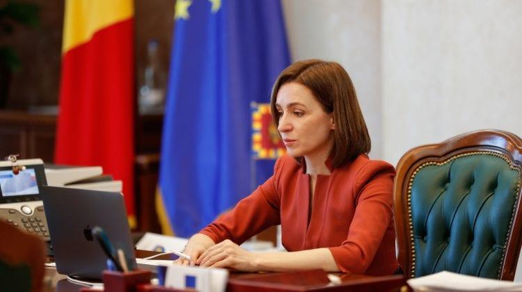 Vizita oficială a Maiei Sandu la Strasbourg, transmisă în direct pe Rliv.md și R LIVE TV