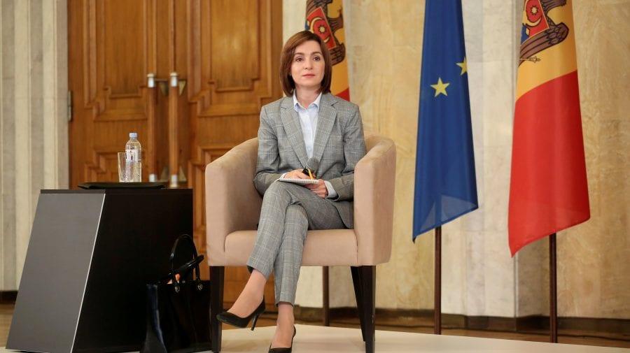Maia Sandu, despre oferta lui Ilan Șor: Sunt sigură că Procuratura va accepta, țara are nevoie de bani