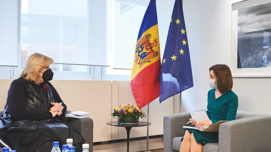 Importanța ratificării Convenției de la Istanbul, discutată de Maia Sandu cu Dunja Mijatović la Strasbourg