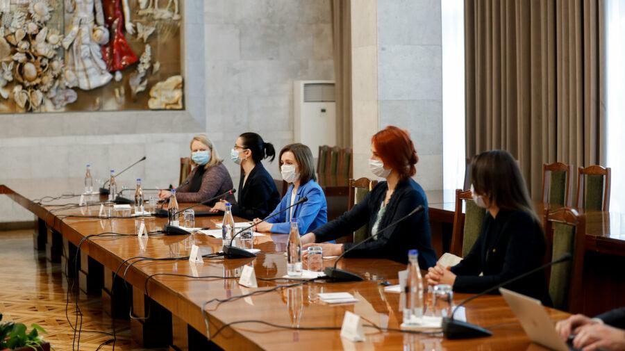 Sandu le-a spus membrilor APCE aflați la Chișinău direct: Avem moștenit din trecut un proces electoral cu probleme