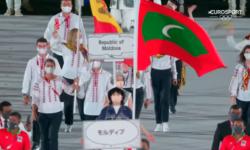 FOTO, VIDEO Sportivii noștri au defilat în deschiderea celei de-a 32-a ediții a Jocurilor Olimpice de vară de la Tokyo